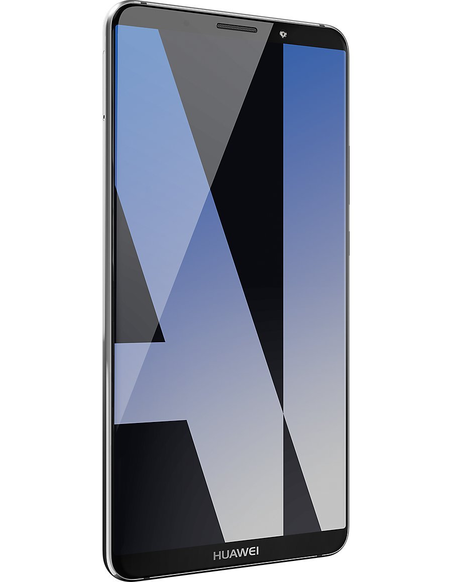 Huawei Mate 10 Pro (Single-SIM) 128GB Android 8 0 UK version SIM-Free  Smartphone -Titanium Grey