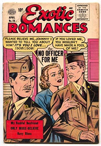 Exotic Romances #28 1956- Matt Baker- Rare comic G/VG
