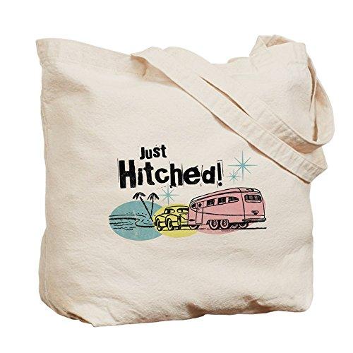 CafePress diseño de remolque sólo Hitched–Gamuza de bolsa de lona bolsa, bolsa de la compra