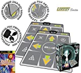 2 x DDR Multi-Platform Super Sensors Energy Nonslip Dance Pad (PS, PS2, XBox, PC, Mac) with DDR Game Ultramix 2 (XBOX)