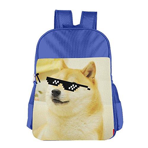 Patrick Mclain Fashion Kid Gift Doge Sunglasses Swag Kids' Backpacks Child Backpack School Bag Shoulder Bags For Boys Girls