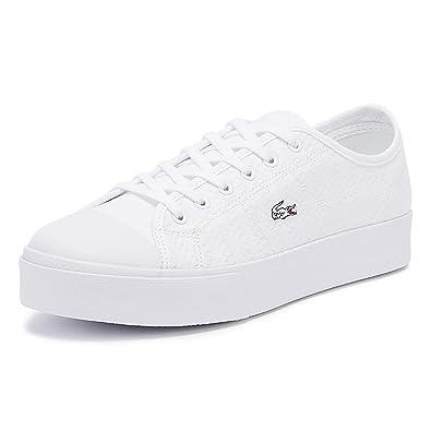 1cc032077c Lacoste - Chaussures Femme Sportswear - 37CFA0054: Amazon.fr ...