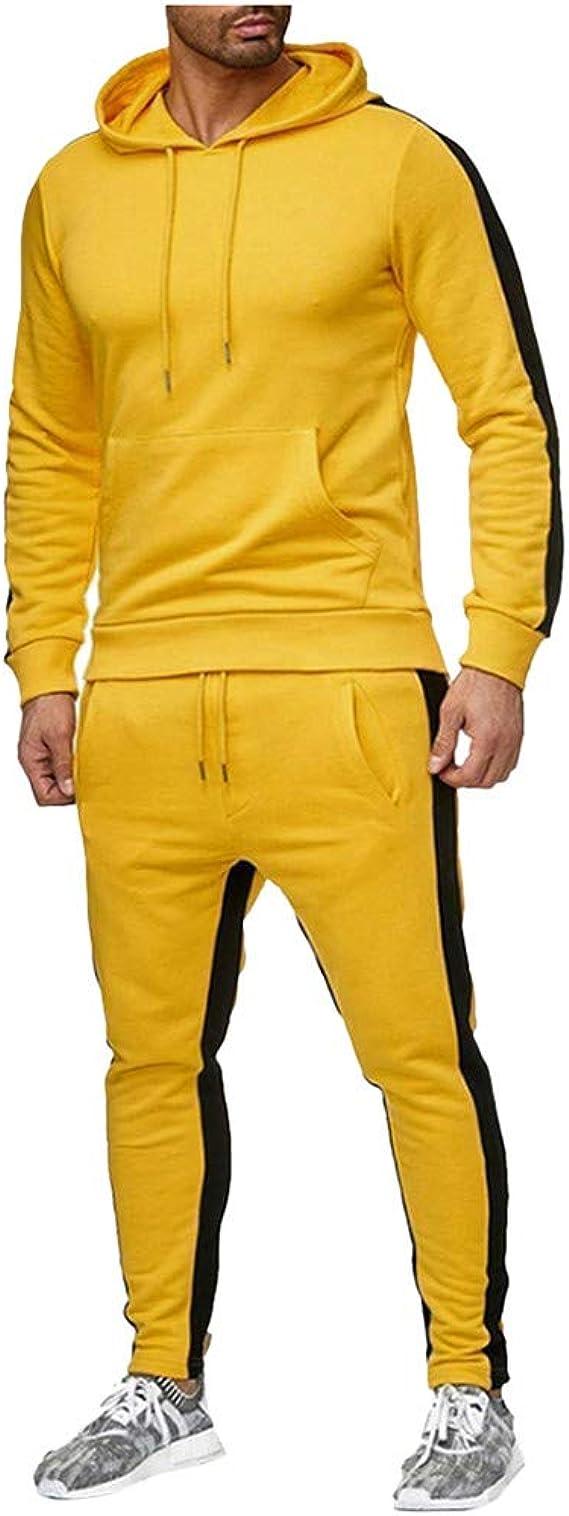 Holataa Chandal Hombre Completo Sudadera con Capucha + Pantalones ...
