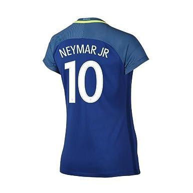 quality design a49fc 6b066 Amazon.com: Neymar Jr #10 Brazil Away Soccer Jersey Copa ...