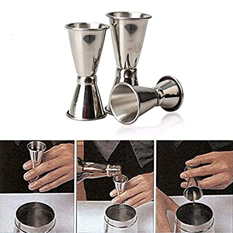 Amazon.com: Coctelera de acero inoxidable de 3 tamaños para ...