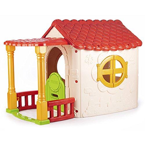 Feber Casa de Jardín con Puerta y Ventanas Abatibles