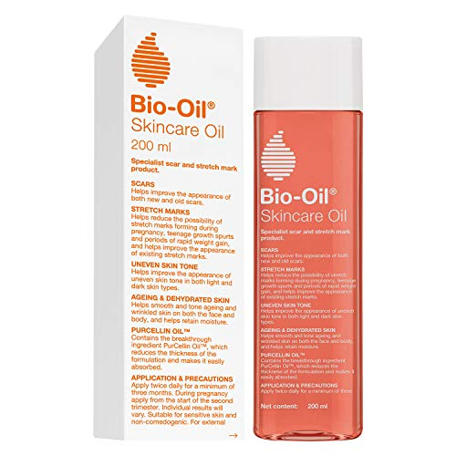 Bio-Oil 200 ml (Specialist Skin Care Oil – Scars, Stretch Mark, Ageing, Uneven Skin Tone)