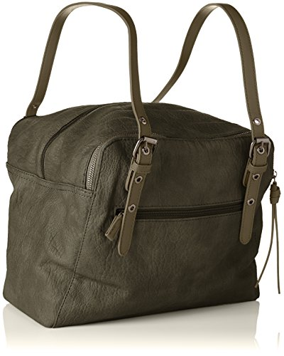 2 Women's David 5681a Green Handle 5681a Jones Khaki 2 Top Bag 6vfvFwRnqx