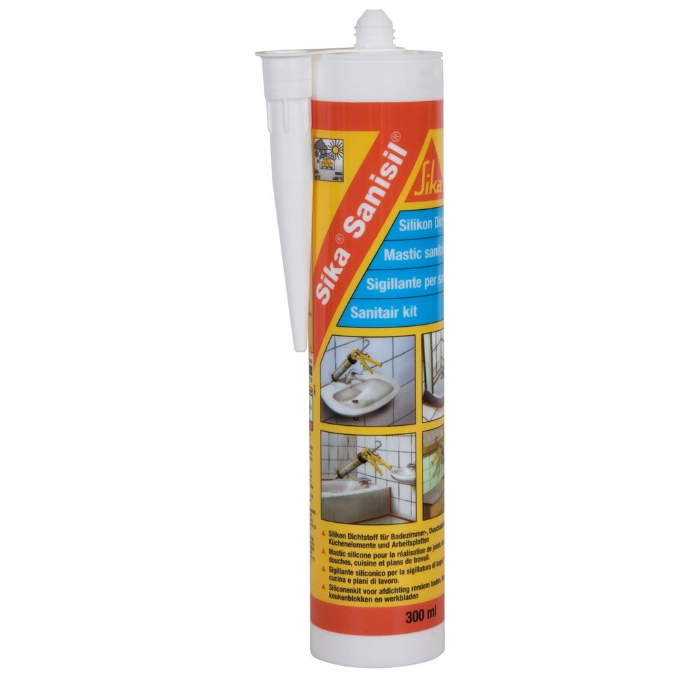 Joint Salle De Bain Anti Moisissure ~ mastic sanitaires sika sanisil joint silicone anti moisissure