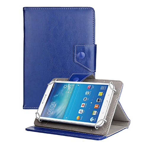 For Android Tablet PC, Mchoice 7 Inch Universal Crystal Leather Stand Case Cover for Android Tablet PC (Blue)