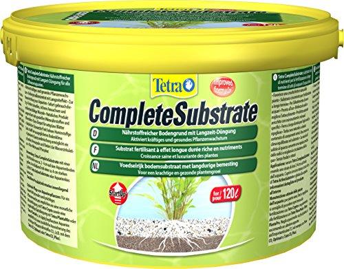 Tetra Complete Substrate (für Pflanzenwachstum und weniger Wasserbelastung, Neueinrichtung von Aquarien Aquarienkies, schnelles Verwurzeln von Wasserpflanzen), 5 kg Eimer