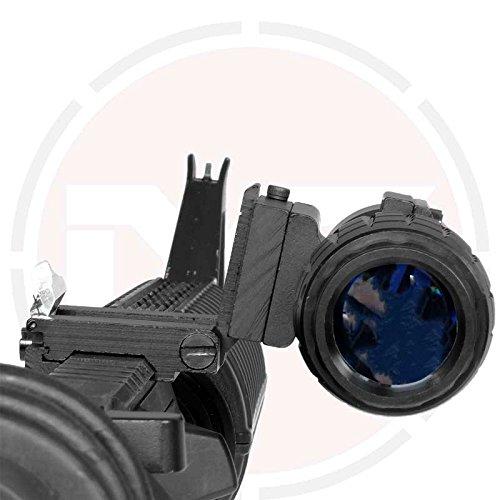 T/áctico 3x-fts AMPLIFICADOR Rifle mira con Libro en el lateral Soporte
