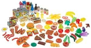 Kidkraft 63187 - Comida de juguete, 125 piezas