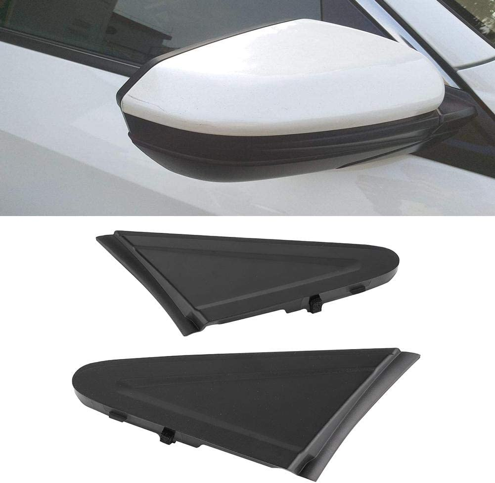 Pair of Front Exterior Pillar Left Right Corner Trim Fit for Honda Civic 2012-2015 75495-TR0-A0 Front Exterior Pillar
