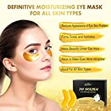 24K Gold Under Eye Patches At Home Spa Skin Care