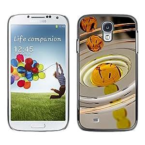 Be Good Phone Accessory // Dura Cáscara cubierta Protectora Caso Carcasa Funda de Protección para Samsung Galaxy S4 I9500 // Oil Drop Macro