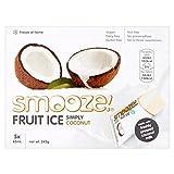 Smooze Simply Coconut Fruit Ice Lollies - 5 x 65ml (10.99fl oz)