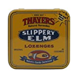 Thayers Slippery Elm Lozenges Plain 42 Loz Review