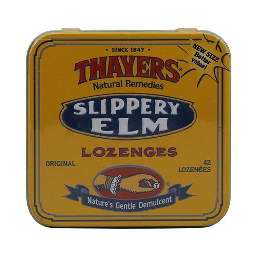THAYERS Original Slippery Elm Lozenges, 42 CT by THAYERS (Image #1)