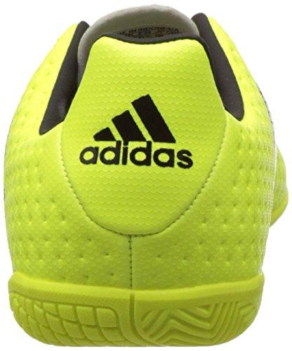 adidas Ace 16.4 In J, Botas De Fútbol para Niños Amarillo (Amasol / Negbas / Plamet)