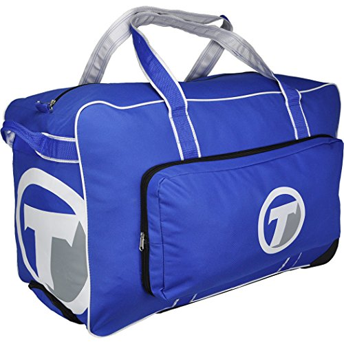 TronX Velocity Wheeled Hockey Equipment Bag (Royal) ()
