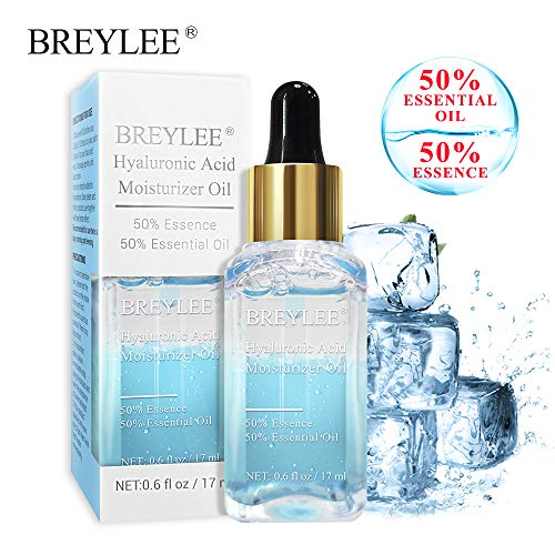 Hydraulic Oil Oxidation - Hyaluronic Acid Serum, BREYLEE Moisturizing Face Oils with Hyaluronic Acid Anti Aging Face Serum for Deeply Hydrate & Fade Fine Lines (17ml,0.61oz)