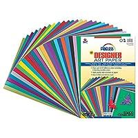 "Surtido de papel PAC57650, 25 colores surtidos, 12 ""x 18"", 100 hojas"