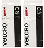 Velcro 90593 2 Pack 4 ft. x 2 in. Industrial Strength Tape, Black