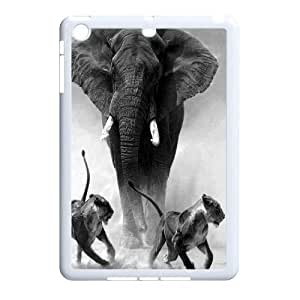 African Elephant Customized Cover Case with Hard Shell Protection for Ipad Mini Case lxa#821442