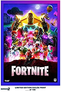 Lost Posters Rare Poster Thick Fortnite Limited 2018 Game