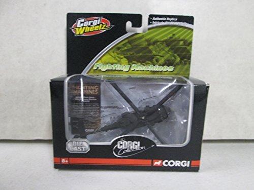 (Corgi Wheelz Fighting Machines UH-60L Black Hawk 101st Airborne Division Die Cast Helicopter)