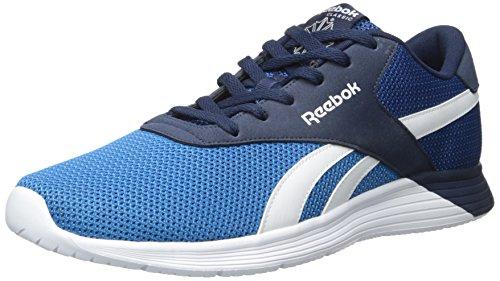 Reebok Mens Royal Ec Ride Sneaker Mode Bleu Sport / Électrique Bleu / Collégial Marine / Blanc