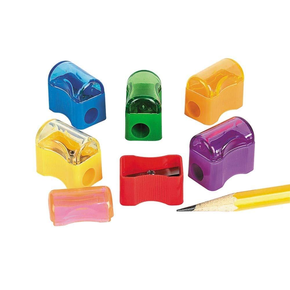 Bulk Plastic Pencil Sharpener Assortment (72 Pack) Fun Express JP-RIN-STSHAR1-FBA