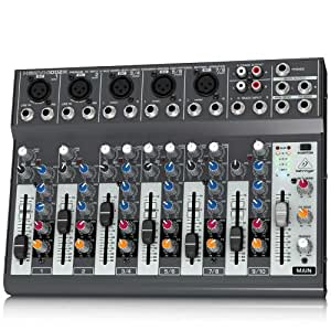 Behringer Xenyx - Mezclador para DJ (120 Db, 10 - 200000 Hz, 29,8 cm, 21,6 cm, 7,3 cm) - Mesa de mezclas XENYX 1002B-EU