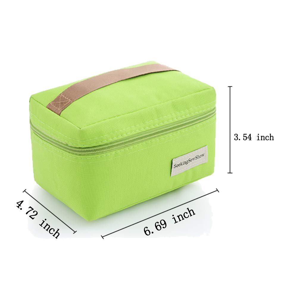 fdcfb677db37 Jessica Chargualaf Portable Insulated Mini Small Snack Bag for Kids ...