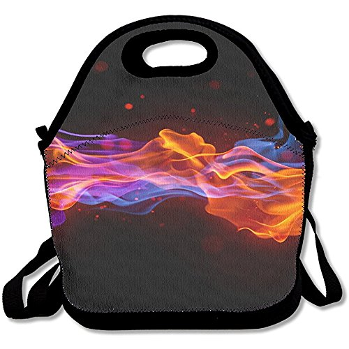Starowas Color Light Splash Ink.PNG Lunch Bag Lunch Tote Lunch Box Handbag Kids Adults