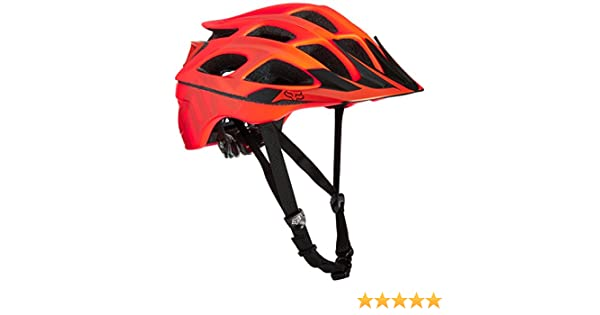 Amazon.com: Fox Racing Striker Vandal Adult Off-Road Cycling Helmet - Orange / Small/Medium: Automotive