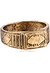 Low Luv by Erin Wasson Afghani Stack Gold Ring