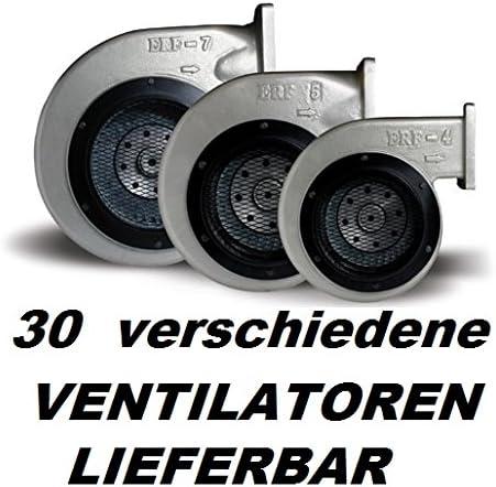 ERF4 Industrie Gebl/äse 225-90 ALU Kessell/üfter Fan Ventilatoren Kessel Industriegebl/äse Industriel/üfter Industrieventilator Kesselgebl/äse Druckgebl/äse Brenner Ofen 400V