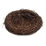 MagiDeal VARIOUS Sizes Natural Vine Bird Nest Doll House Miniatures Garden Pet Animal Toys 6cm-20cm Creative Gifts Windowsill Decoration - Brown, 25cm