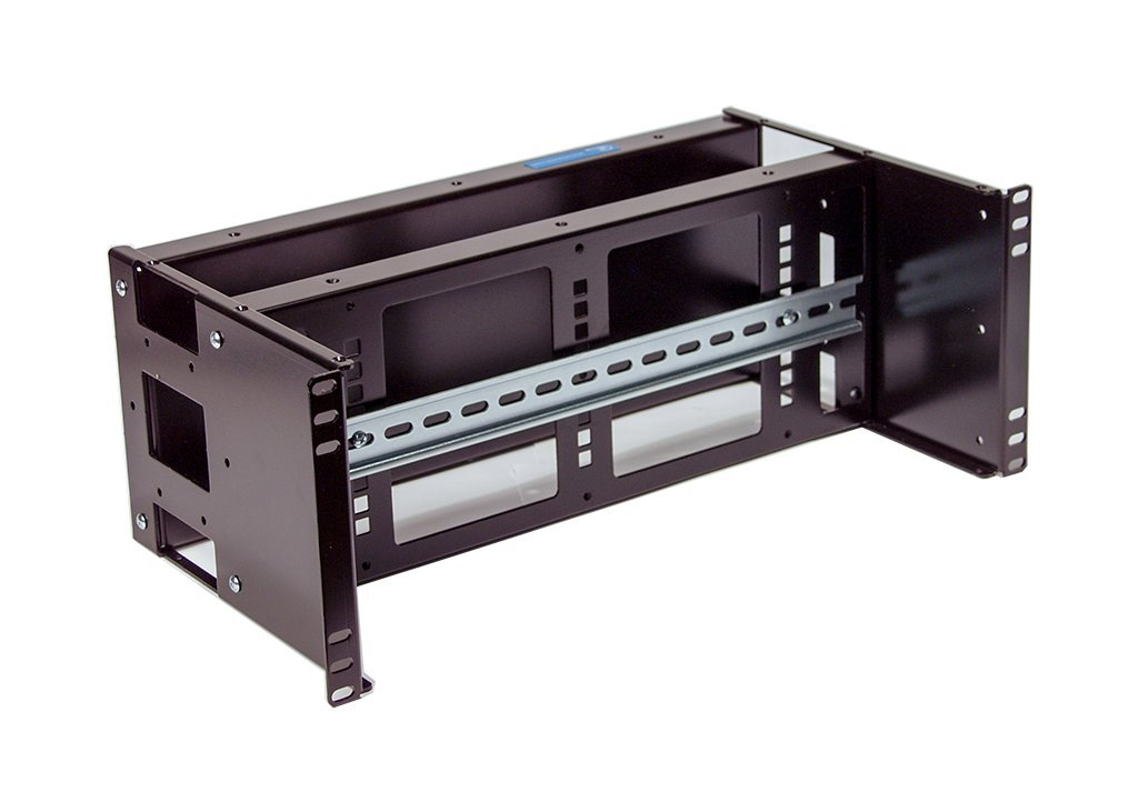Rackmount Din Rail and Blank Double Panel 4U Industrial Automation and Enclosures Inc.