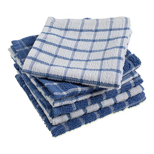 Fast Drying and Mach Multi-Use Details about  /DII Terry Combo Windowpane Dishcloths Absorbant