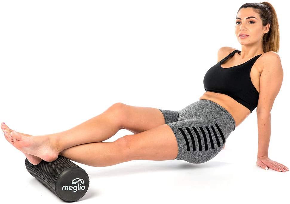 MEGLIO Rullo in Schiuma Alleviare la Tensione Muscolare e Il Dolore Il Recupero Trigger Point Rullo Fitness in Schiuma Leggera per Il Massaggio Muscolare Profondo dei Tessuti Terapia Antistress