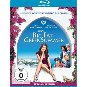 My big fat greek summer blu-ray cover