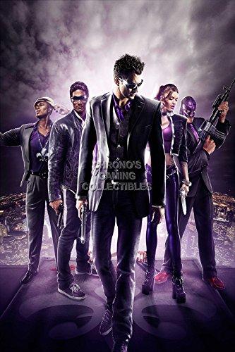 CGC Huge Poster - Saints Row 3 The Third Ps3 Xbox 360 PC