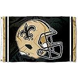 WinCraft New Orleans Saints New Helmet Grommet Pole Flag