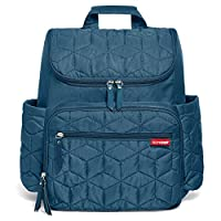 Skip Hop Forma Pack and Go Diaper Backpack, Peacock
