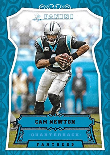 Cam Newton 2016 Panini NFL Football Mint 185 Picturing him in his Back Panters Jersey Cam Newton M (Panters Nfl)