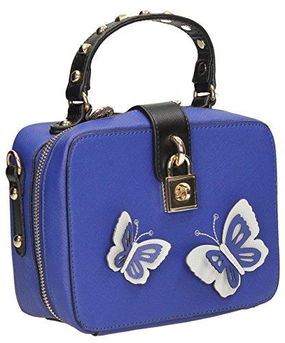 Uma Butterfly-Borsa a tracolla, borsa da donna Tote-Borsa a tracolla, SWANKYSWANS