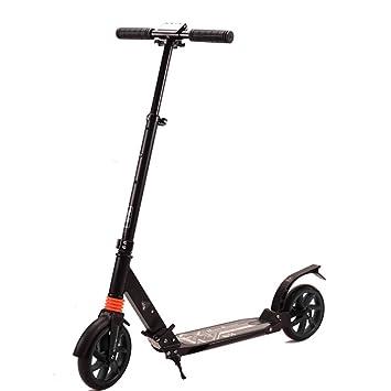 Patinete- Scooter para Adultos Viaje Plegable No Eléctrico 2 ...